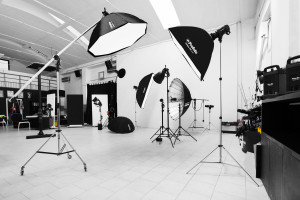 The Studio and some equipment